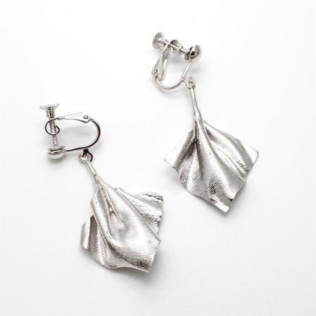 wrinkle series earring(pair)