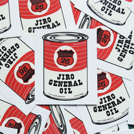 """JIRO BE GOOD"" SET OF 3 STICKERS - Oil Pack"