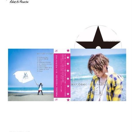 安達勇人2ndアルバム CD『WELCOME TO ADACHI HOUSE』