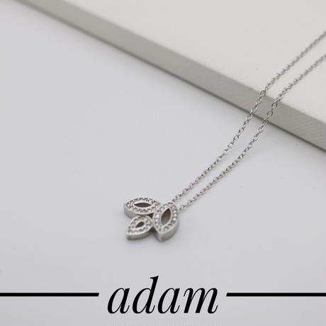 TP leaf necklace