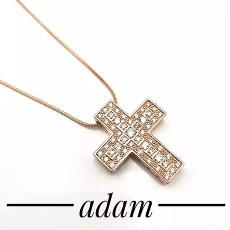 Cross  Geometry necklace