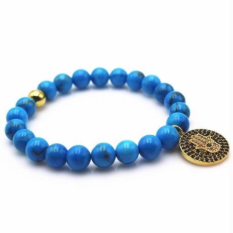 H coin bracelet