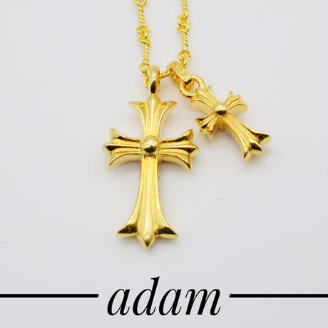 cross LCH rosa necklace