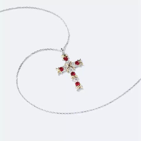 La croce R necklace