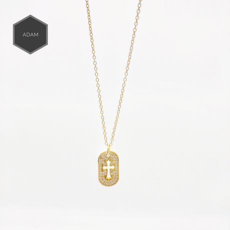 Cross  box luxury necklace
