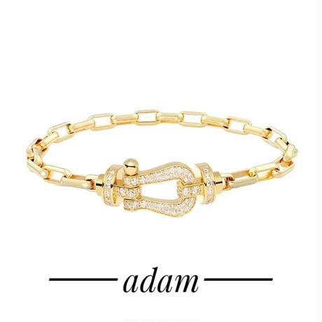 U-hoof chain  bracelet