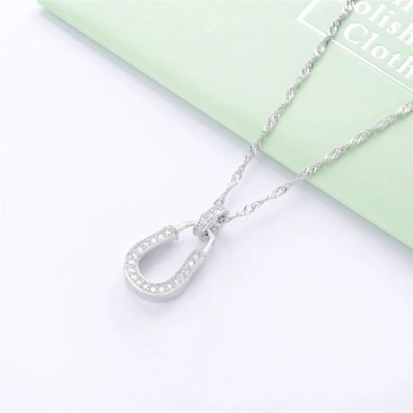 U-hoof simple necklace