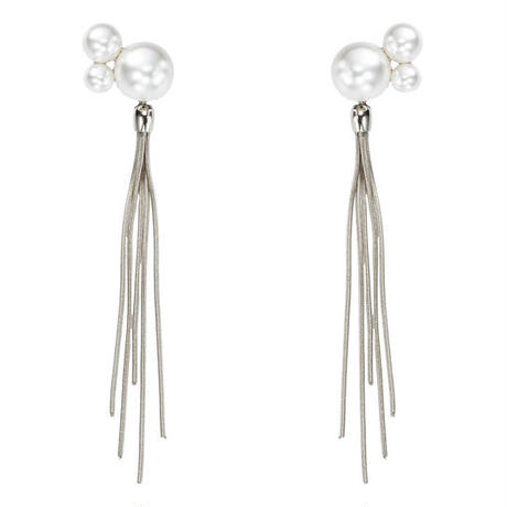 BASIC 2way pearl fringe pierce