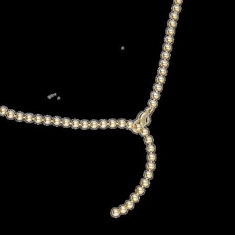 CHARM ballchain necklace(gold)
