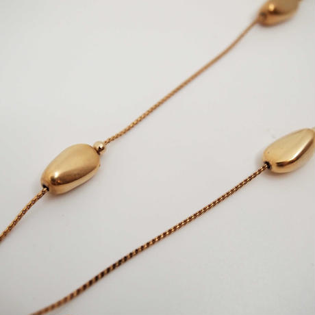 GOUTTE long station necklace