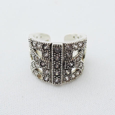 ARABESQUE silver ring(gold)