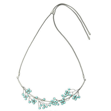 FILIGREE bouquet necklace