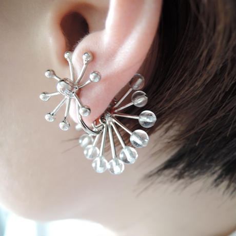 FILIGREE solid pierce/earring