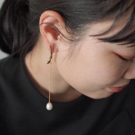 BRANCHE long pearl pierce
