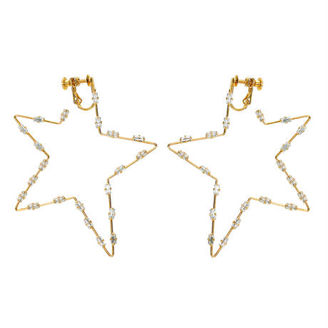FILIGREE POP STAR pierce/earring
