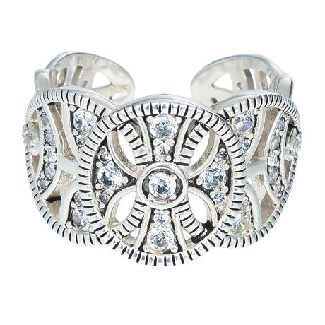 PONDICHERRY silver ring