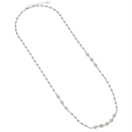 DIAMANTE LONG NECKLACE