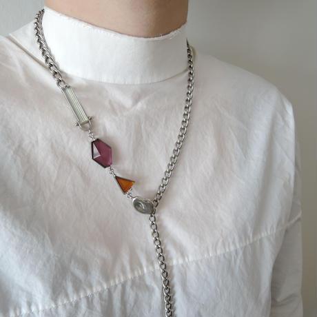 VITRAIL chain choker(silver)