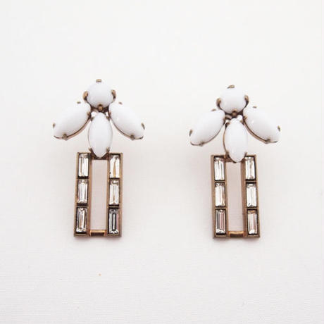 TROPIC squiare pierce/earring