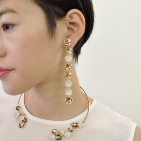 BOUQUET long earring