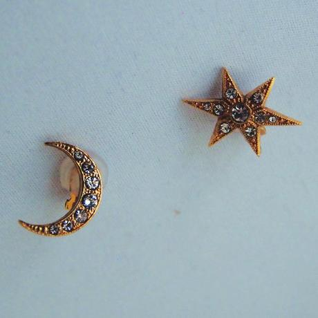 STAR&MOON earring/pierce