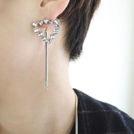 SPARKLE 3way pierce (silver)