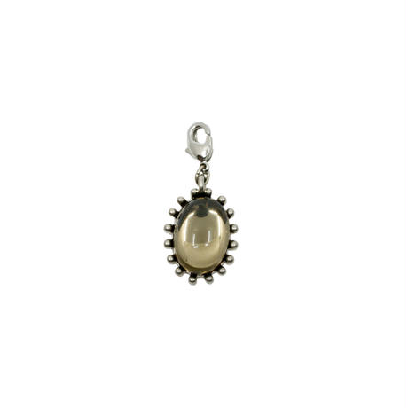 CHARM squere necklace(silver)
