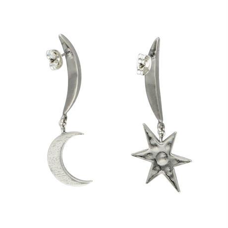 MOON&STAR earring/pierce