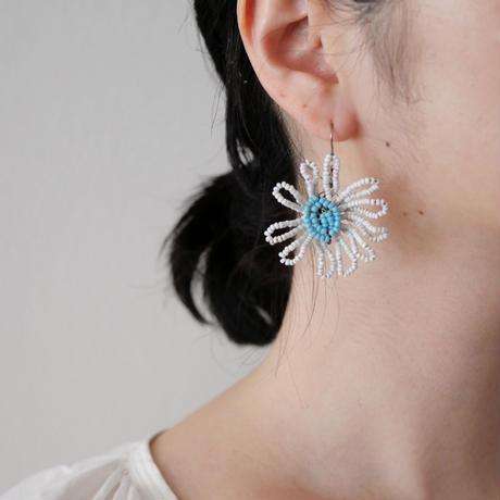 【LIMITED】Vintage Wire Flower pierce/earring
