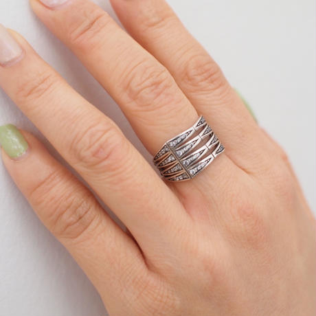 FJORD silver ring