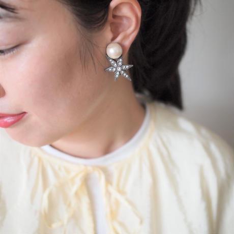 STAR pearl pierce (gold)