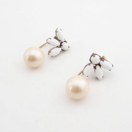 TROPIC 2way pierce pearl