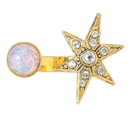 MOON&STAR cabochon ring