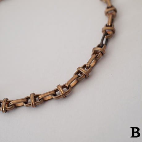 【LIMITED】dead stock design chain necklace