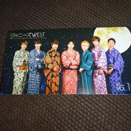 ジャーニーズWEST ファンクラブ会報 Vol.10