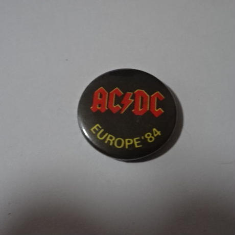 AC/DC 缶バッジ