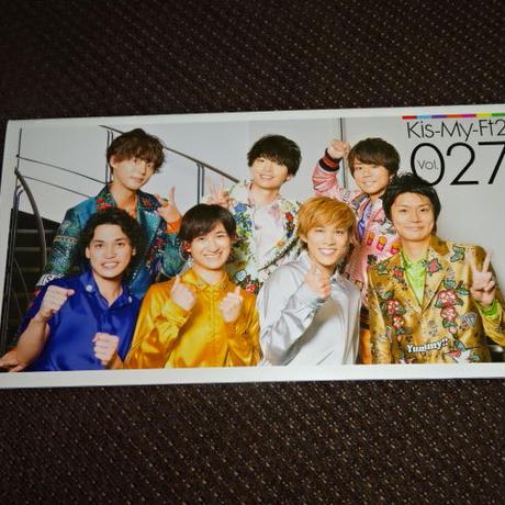キスマイ ファンクラブ会報 Vol.027 Kis-My-Ft2