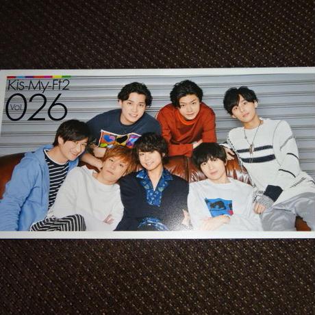キスマイ ファンクラブ会報 Vol.026 Kis-My-Ft2
