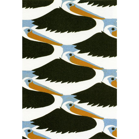 ポストカード2枚セット(鳥と魚、肥後不知火諾衛門)
