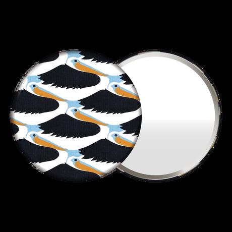 鏡(鳥と魚)