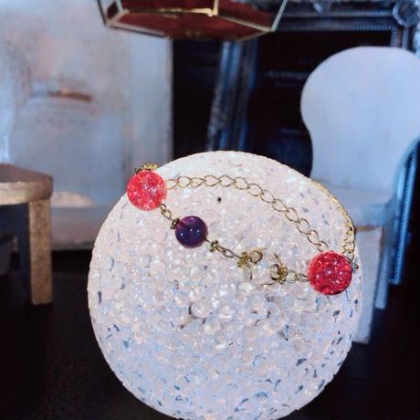 ハンドメイド 天然石 パワーストーン ブレスレット