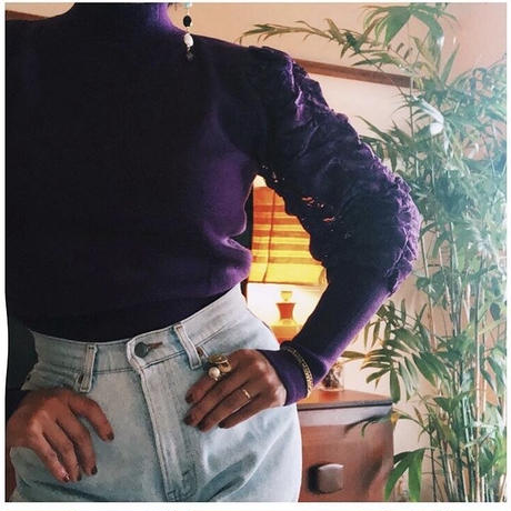 Leg Of Mutton Sleeves Knit