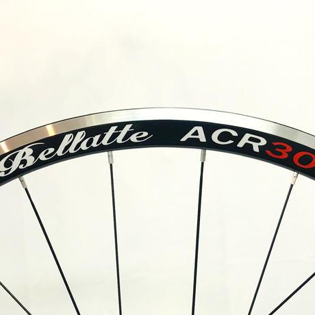 Bellatte ACR30R クリンチャーレーシングアルミホイールブラックスポーク仕様(1,452g)