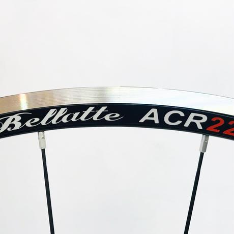 Bellatte ACR22R軽量アルミホイールブラックスポーク仕様(1,330g)