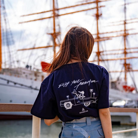 Enjoy your Adventure Navy