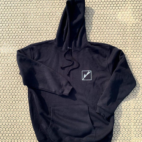 Advanstar new box logo hoodie