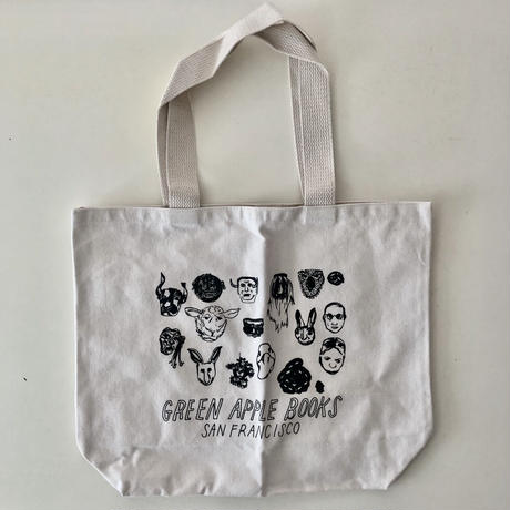 GREEN APPLE Books オリジナル MASK TOTE BAG