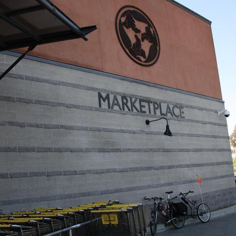 Berkeley Bowl Marketplace オリジナル CANVAS LOGO BAG