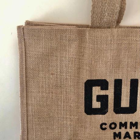 GUS'S MARKET オリジナル BURLAP TOTE BAG