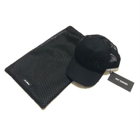 "RAF SIMONS × Ron Herman R Logo mesh cap Size Free ""DEAD STOCK"""